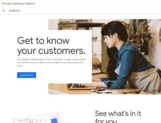 googleanalytics.com screenshot