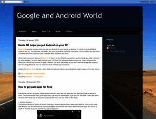 googleandandroidworld.blogspot.com screenshot