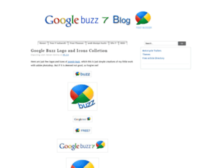 googlebuzz7.blogspot.com screenshot