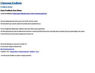 googleclassroom.com screenshot