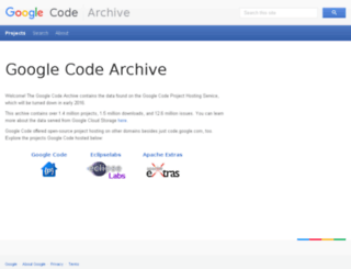 googlecode.com screenshot