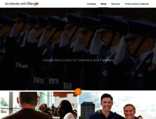 googleforveterans.com screenshot