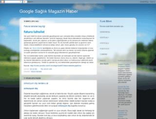 googlehaber2015.blogspot.com.tr screenshot