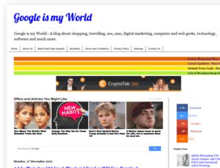 googleismyworld.blogspot.com.tr screenshot