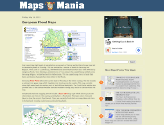 googlemapsmania.blogspot.com.br screenshot