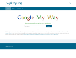 googlemy-way.com screenshot