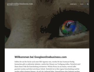 googleonlinebusiness.com screenshot