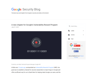 googleonlinesecurity.blogspot.it screenshot