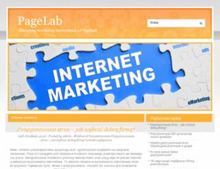 googlepagerank.pl screenshot