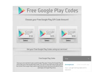 googlepcodegenerator.deluxesave.com screenshot