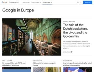 googlepolicyeurope.blogspot.co.uk screenshot