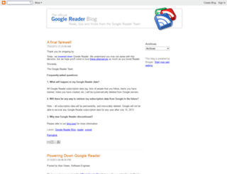 googlereader.blogspot.ca screenshot