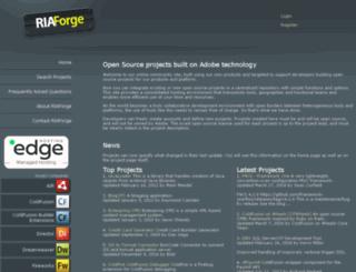 googlesitemapxmlgenerator.riaforge.org screenshot