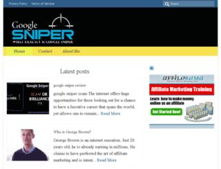 googlesniper.website screenshot