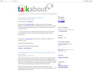 googletalk.blogspot.com screenshot