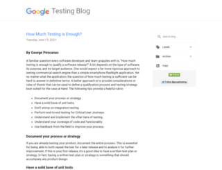 googletesting.blogspot.co.uk screenshot