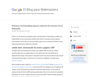 googlewebmaster-es.blogspot.com.es screenshot