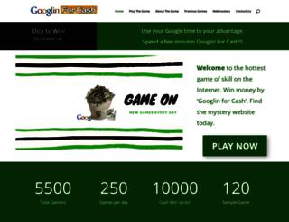 googlingforcash.com screenshot