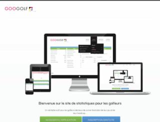 googolfstats.com screenshot