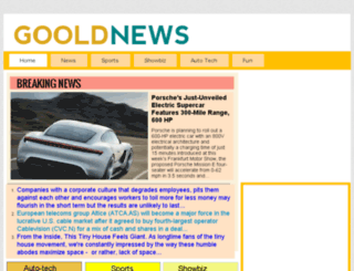 gooldnews.com screenshot