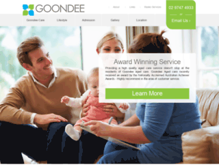 goondee.com.au screenshot