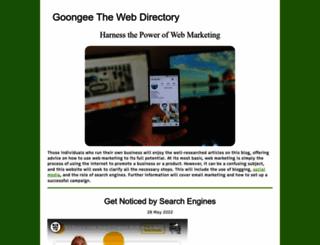goongee.com screenshot