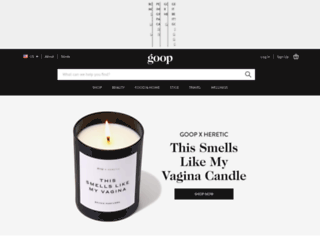 goop.com screenshot