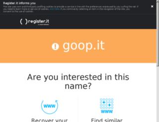 goop.it screenshot