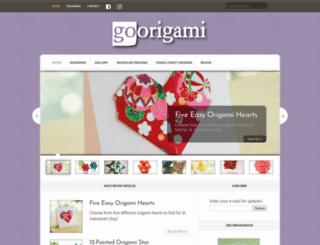 goorigami.com screenshot