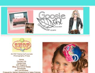goosiegirlboutique.com screenshot