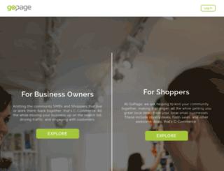 gopage.com screenshot