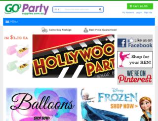 gopartysupplies.com.au screenshot