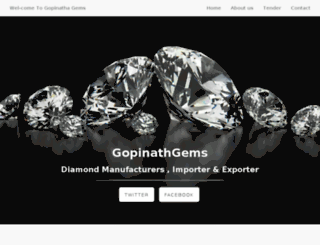 gopinathgems.co screenshot