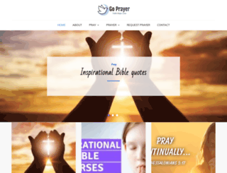 goprayer.com screenshot