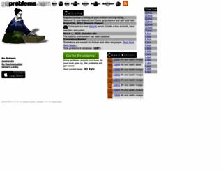 goproblems.com screenshot