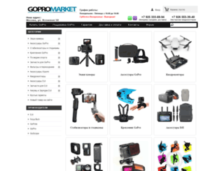 gopromarket.ru screenshot