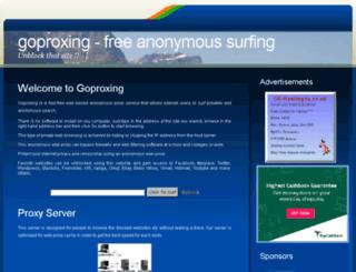 goproxing.net screenshot