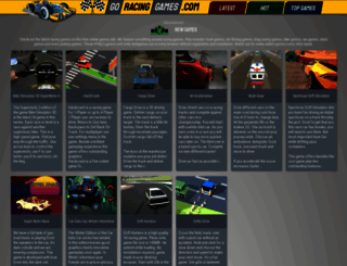 goracinggames.com screenshot