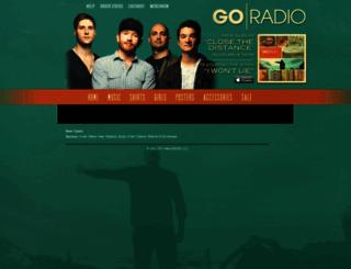 goradio.merchnow.com screenshot