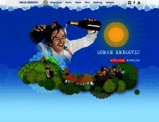 goranbregovic.rs screenshot