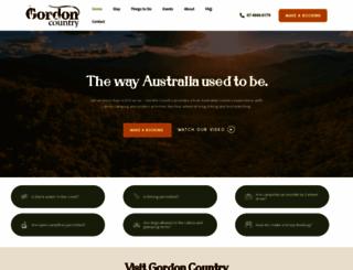 gordoncountry.com.au screenshot