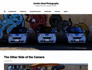 gordonmoat.com screenshot