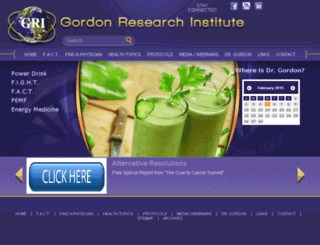 gordonresearch.com screenshot