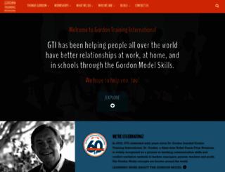 gordontraining.com screenshot