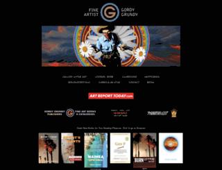 gordygrundy.com screenshot
