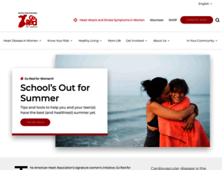 goredforwomen.org screenshot