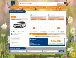 gorentacar.com.ar screenshot