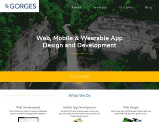 gorges.us screenshot