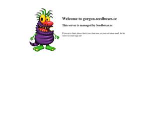 gorgon.seedboxes.cc screenshot