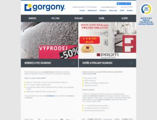 gorgony.cz screenshot